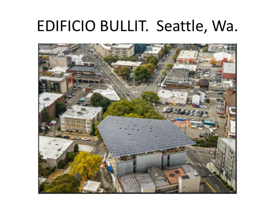 EDIFICIO BULLIT. Seattle, Wa.