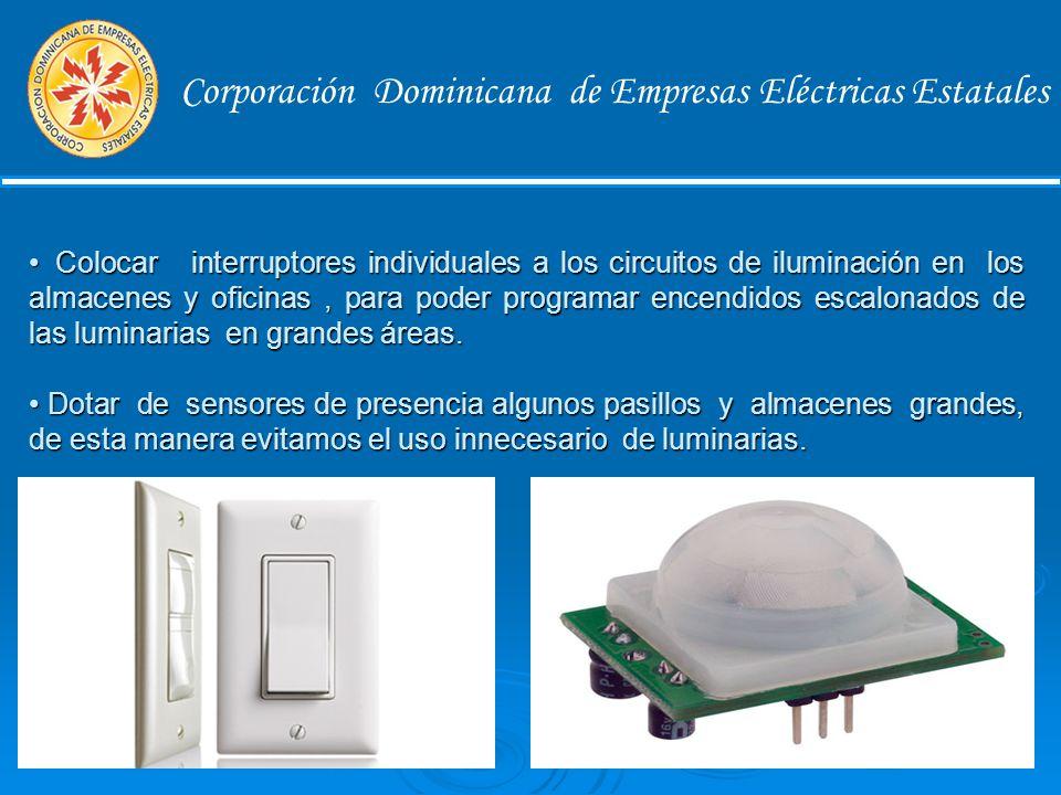 ILUMINACION Corporación Dominicana de Empresas Eléctricas Estatales Aprovechar al máximo la luz natural.