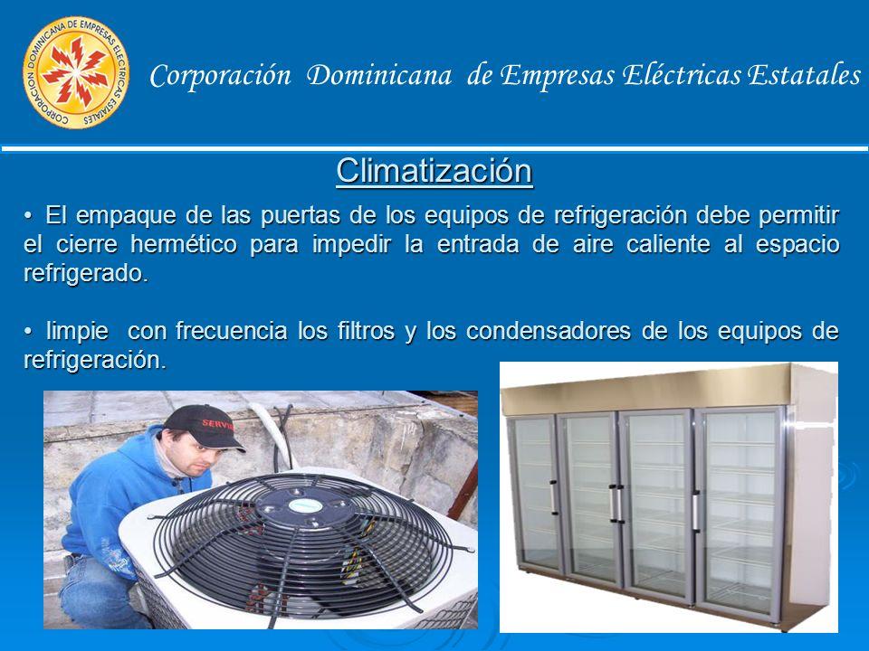 Corporación Dominicana de Empresas Eléctricas Estatales Si dejas de usar la computadora por unos minutos apaga el monitor que equivale a apagar una bombilla de 50 watts.