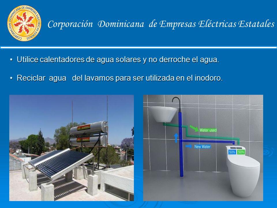 Corporación Dominicana de Empresas Eléctricas Estatales Equipos de Refrigeración El refrigerador es uno de los equipos que mas energía consume entre un 20% y 30%, la eficiencia del mismo depende del lugar donde lo ubiques.