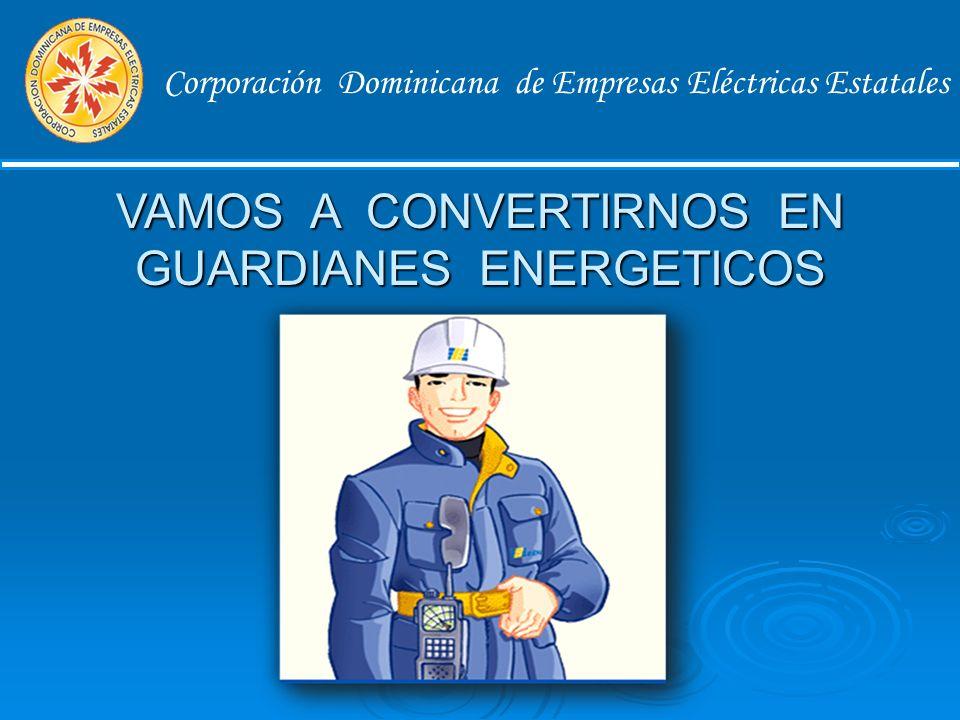 Corporación Dominicana de Empresas Eléctricas Estatales Acción 3 : Elaboración de una Auditoria Energética Determinar todo tipo de carga conectada y los consumos de cada una.
