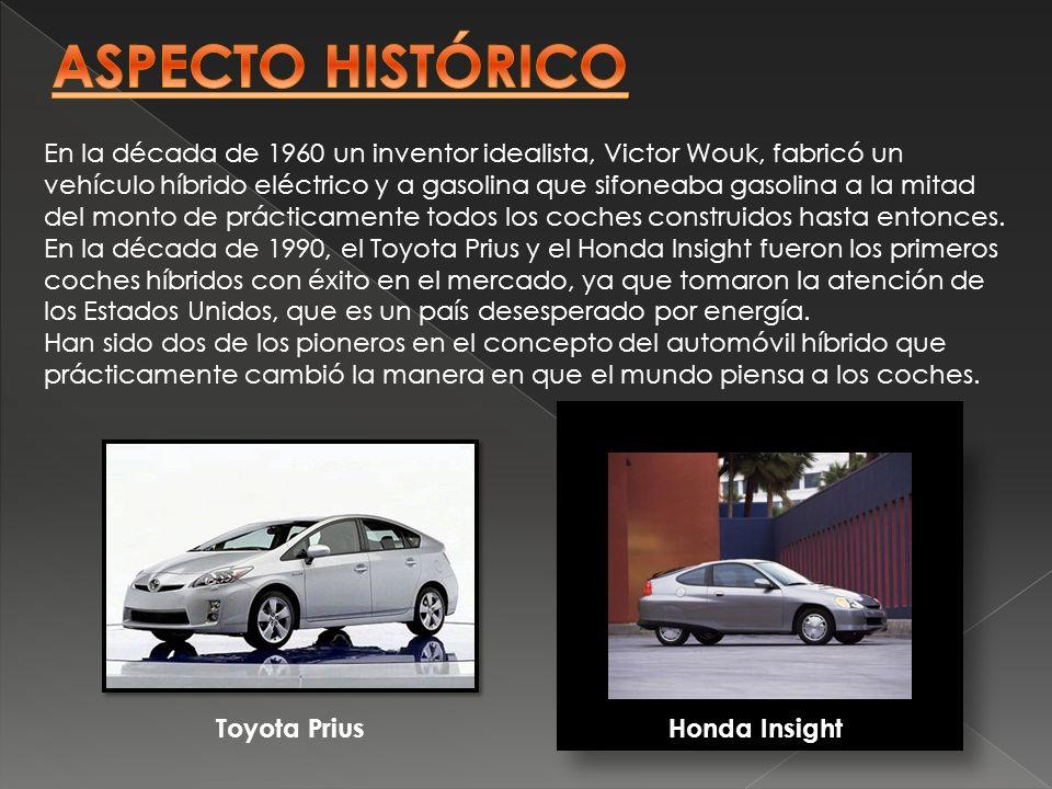 En la década de 1960 un inventor idealista, Victor Wouk, fabricó un vehículo híbrido eléctrico y a gasolina que sifoneaba gasolina a la mitad del mont