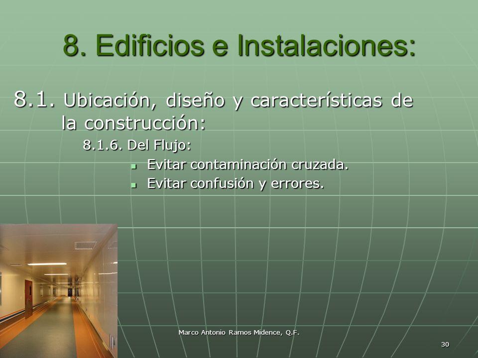 Marco Antonio Ramos Midence, Q.F. 30 8. Edificios e Instalaciones: 8.1. Ubicación, diseño y características de la construcción: 8.1.6. Del Flujo: Evit