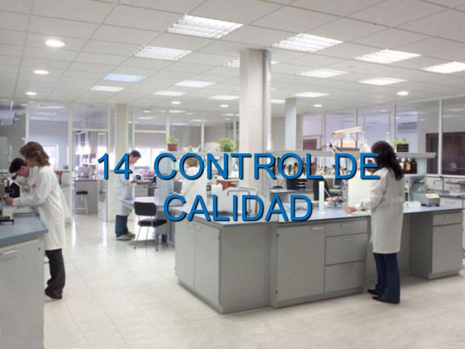 Marco Antonio Ramos Midence, Q.F. 69 14. CONTROL DE CALIDAD