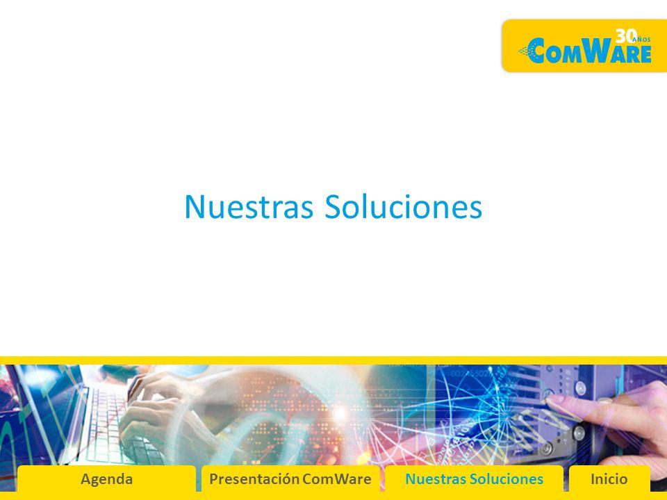 Nuestras Soluciones AgendaPresentación ComWareNuestras SolucionesInicio