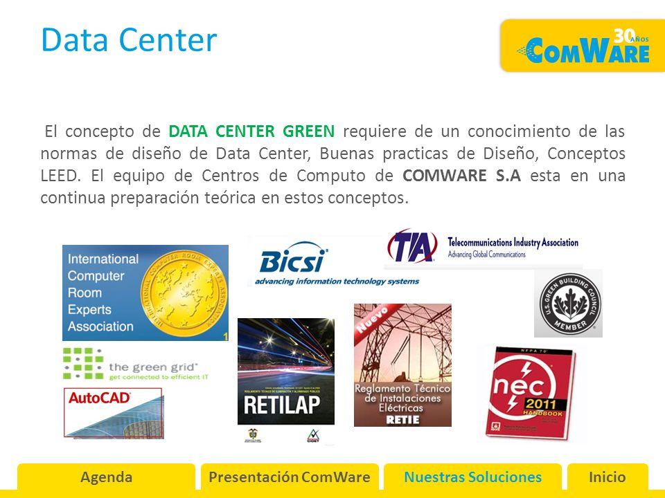 Data Center El concepto de DATA CENTER GREEN requiere de un conocimiento de las normas de diseño de Data Center, Buenas practicas de Diseño, Conceptos LEED.