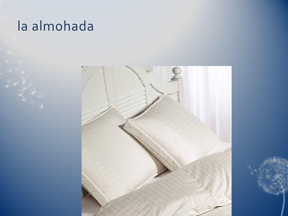 la almohadala almohada
