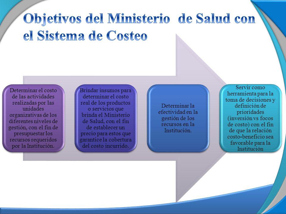 Determinar el costo de las actividades realizadas por las unidades organizativas de los diferentes niveles de gestión, con el fin de presupuestar los