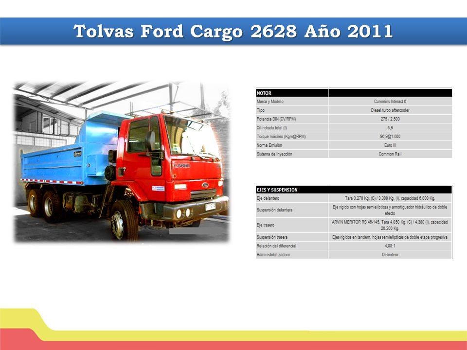 Tolvas Ford Cargo 2628 Año 2011