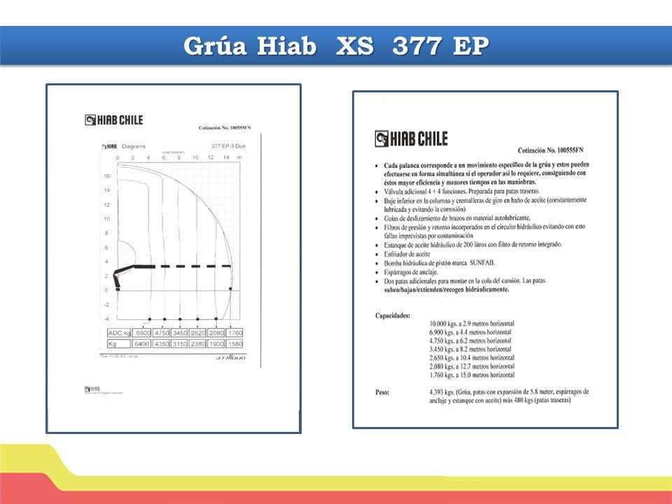 Grúa Hiab XS 377 EP