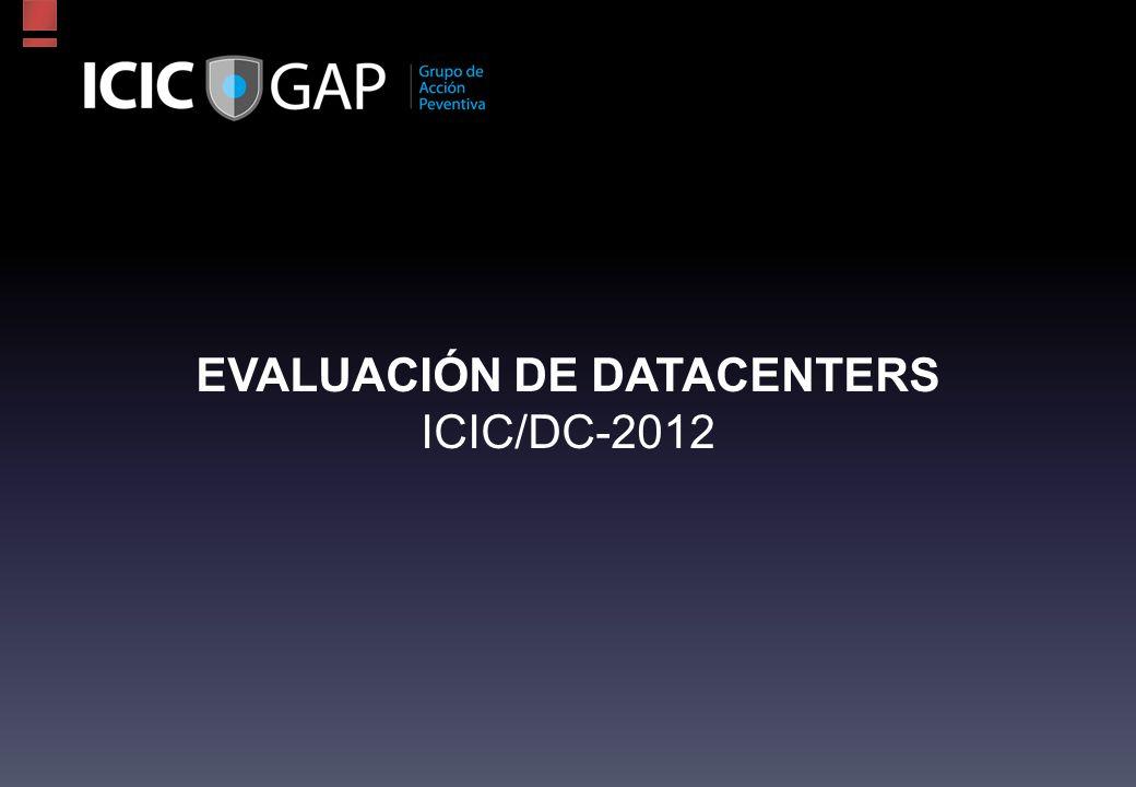 EVALUACIÓN DE DATACENTERS ICIC/DC-2012