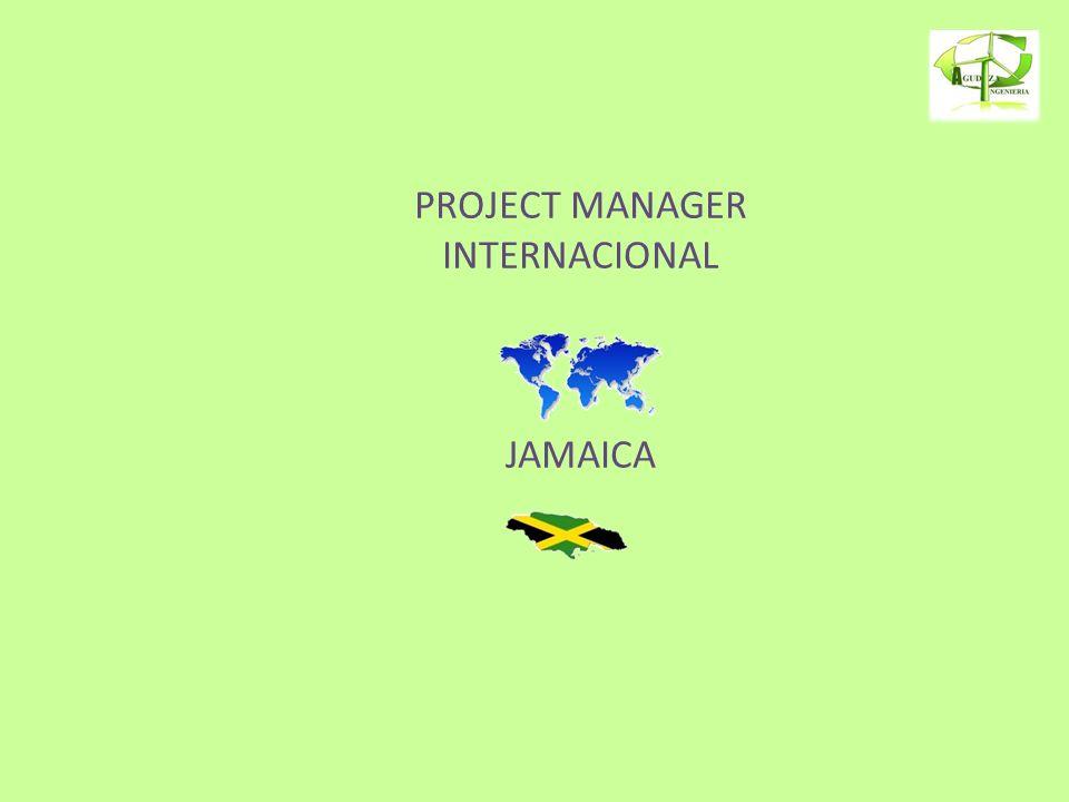 PROJECT MANAGER INTERNACIONAL JAMAICA