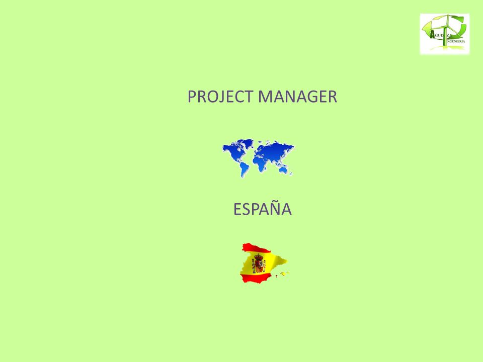 PROJECT MANAGER ESPAÑA