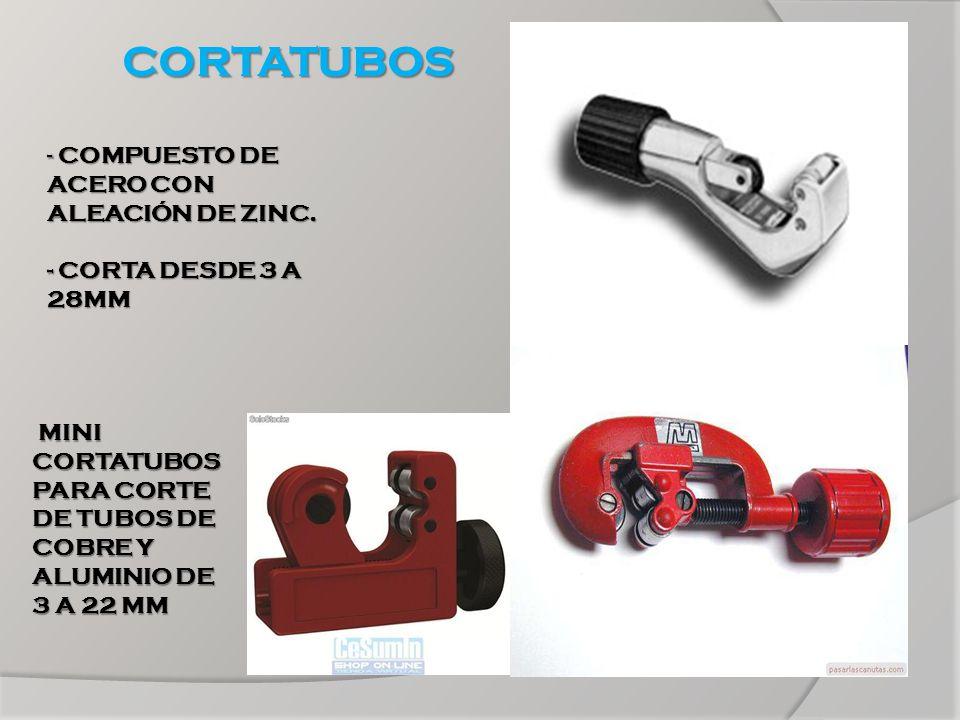 CORTATUBOS MINI CORTATUBOS PARA CORTE DE TUBOS DE COBRE Y ALUMINIO DE 3 A 22 MM MINI CORTATUBOS PARA CORTE DE TUBOS DE COBRE Y ALUMINIO DE 3 A 22 MM -