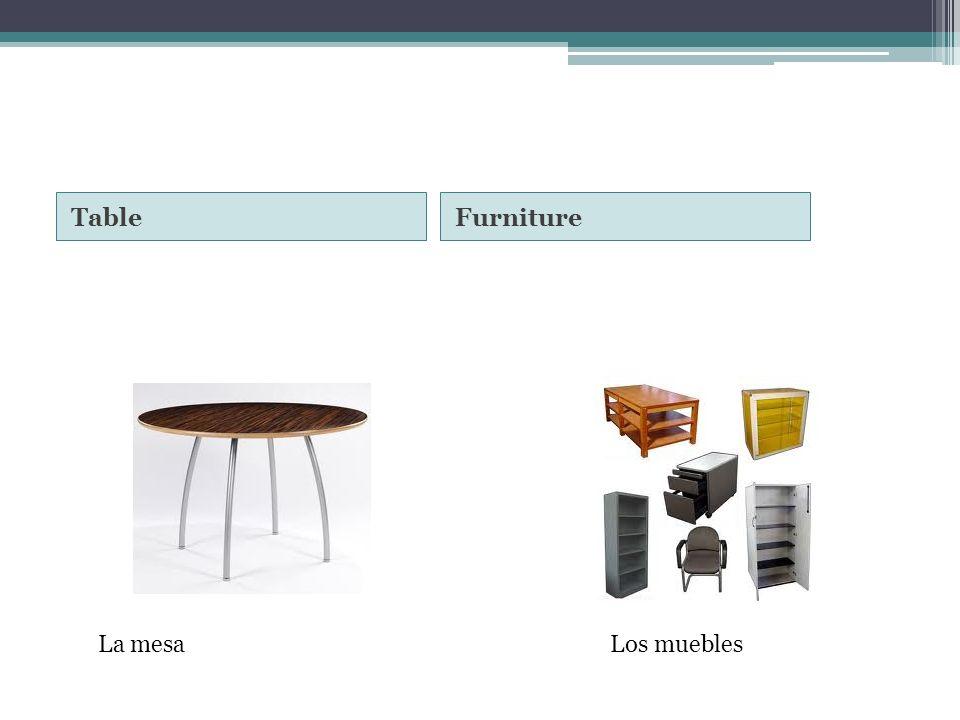 TableFurniture La mesaLos muebles