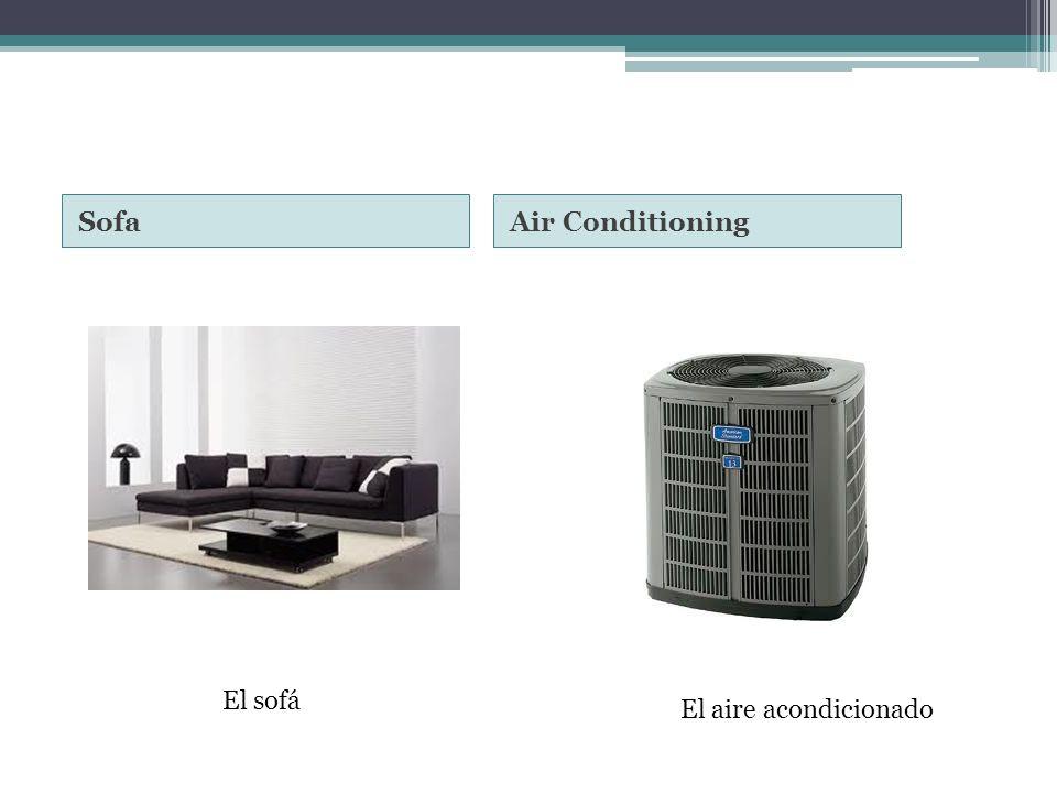 SofaAir Conditioning El sofá El aire acondicionado