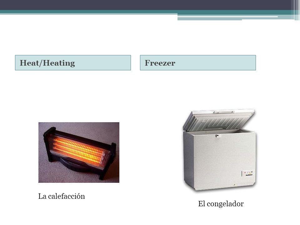Heat/HeatingFreezer La calefacción El congelador