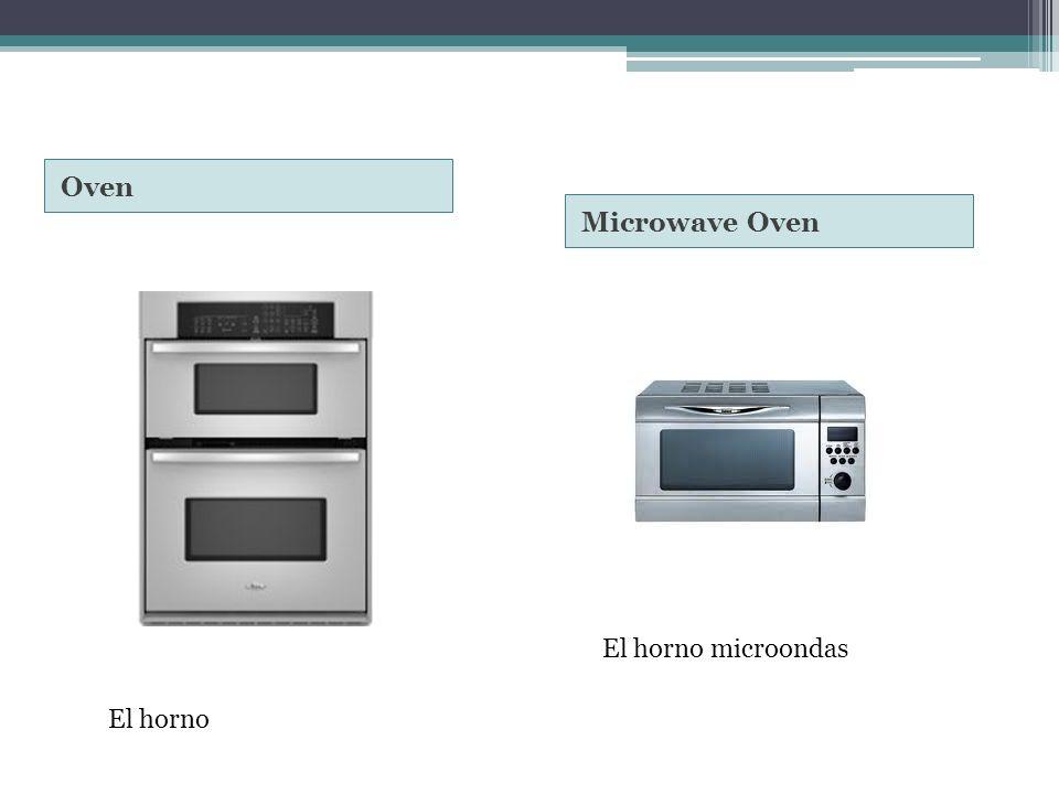 Oven Microwave Oven El horno El horno microondas