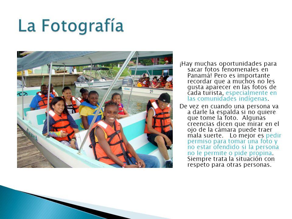 ¡Hay muchas oportunidades para sacar fotos fenomenales en Panamá.
