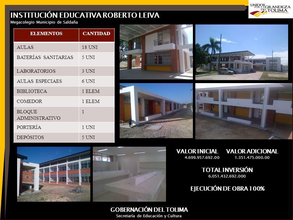 Secretaría de Educación y Cultura Gobernación del Tolima Secretaría de Educación y Cultura Gobernación del Tolima CONTRATO PLAN SUR DEL TOLIMA 2013-2016 Los siguientes son los proyectos aprobados en el acuerdo firmado del Contrato Plan: