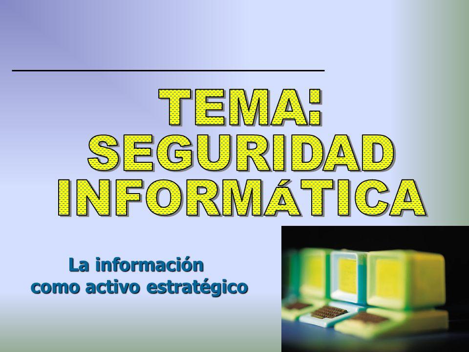 La información como activo estratégico