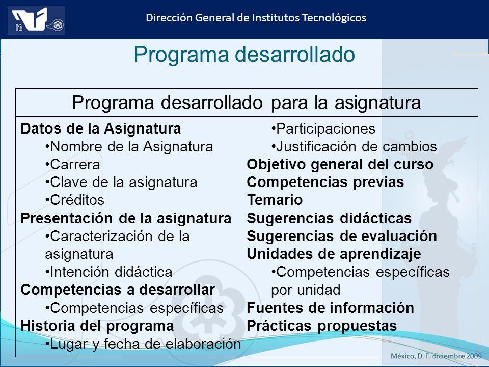 Instituto Tecnológico de Culiacán. Julio 2013 Dirección General de Institutos Tecnológicos Programa desarrollado Datos de la Asignatura Nombre de la A