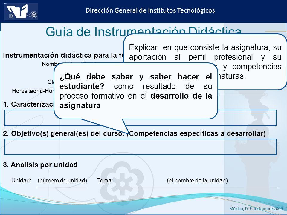 Instituto Tecnológico de Culiacán. Julio 2013 Dirección General de Institutos Tecnológicos Nombre de la asignatura: Carrera: Clave de la asignatura: H