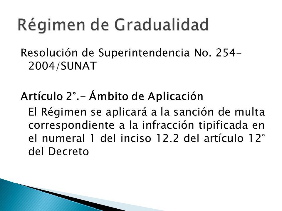 Resolución de Superintendencia No.