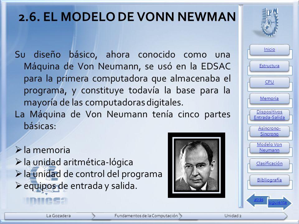 Su diseño básico, ahora conocido como una Máquina de Von Neumann, se usó en la EDSAC para la primera computadora que almacenaba el programa, y constituye todavía la base para la mayoría de las computadoras digitales.