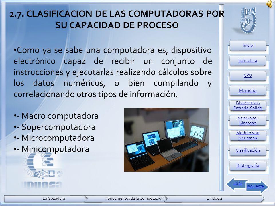 Como ya se sabe una computadora es, dispositivo electrónico capaz de recibir un conjunto de instrucciones y ejecutarlas realizando cálculos sobre los datos numéricos, o bien compilando y correlacionando otros tipos de información.