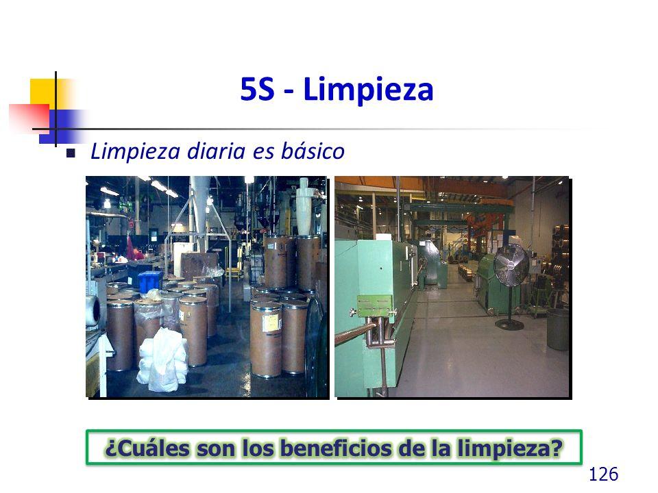 5S - Limpieza Limpieza diaria es básico 126