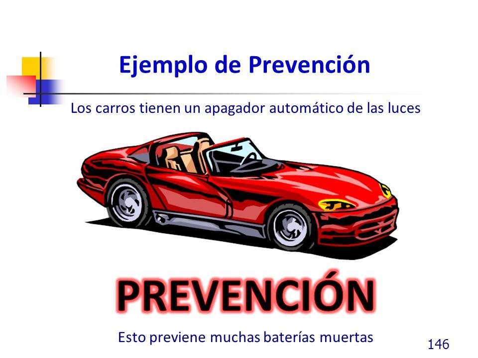 Ejemplo de Prevención 146