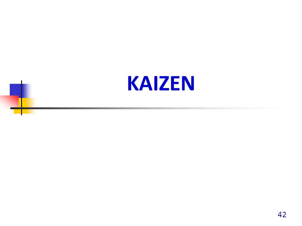 KAIZEN 42