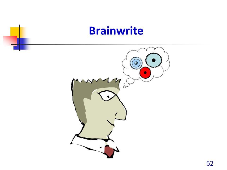 Brainwrite 62