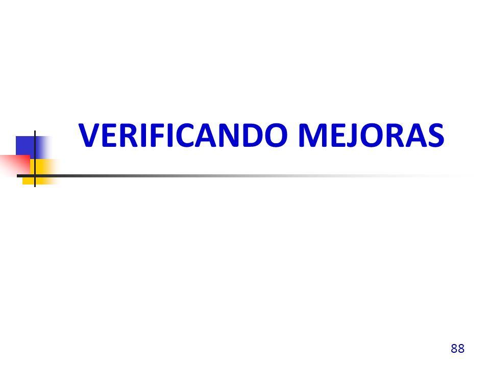 VERIFICANDO MEJORAS 88