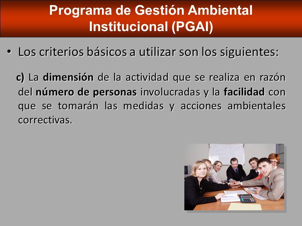 Cada institución del estado costarricense deberá disponer de un responsable general que coordinará, a lo interno de la respectiva institución, la elaboración de los diferentes PGAI.