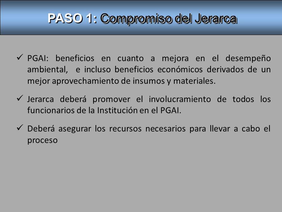 PASO 2: Comisión Institucional y coordinador -Nombrada por el Jerarca.