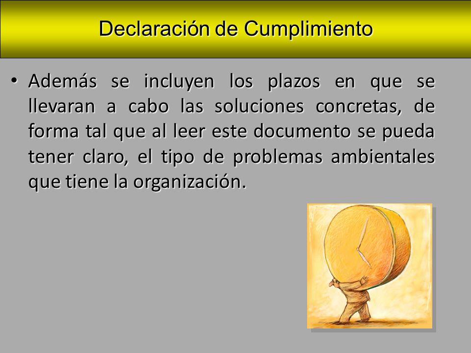 Este documento también tiene la utilidad practica de servir de instrumento de comunicación a lo interno de la organización.