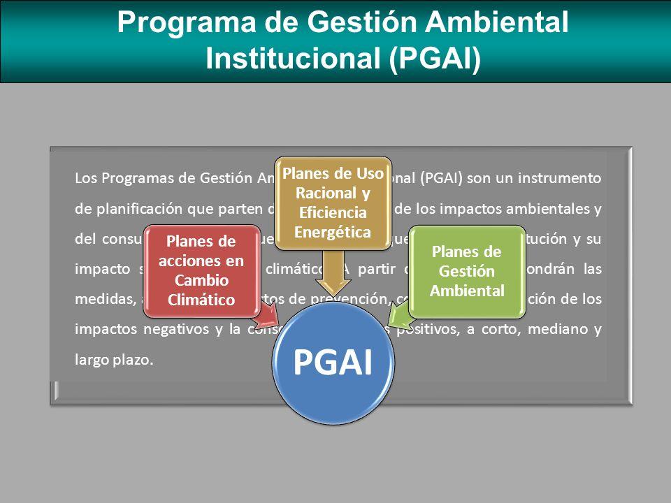 OBJETIVOS Servir de instrumento para mejorar las condiciones ambientales en las instituciones públicas del país, mediante la prevención, reducción y el control de la contaminación ambiental.