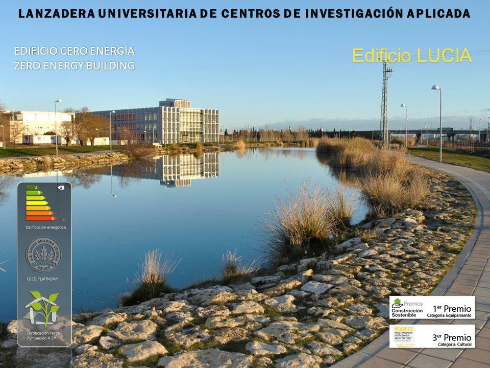 EDIFICIO CERO ENERGÍA ZERO ENERGY BUILDING Edificio LUCIA