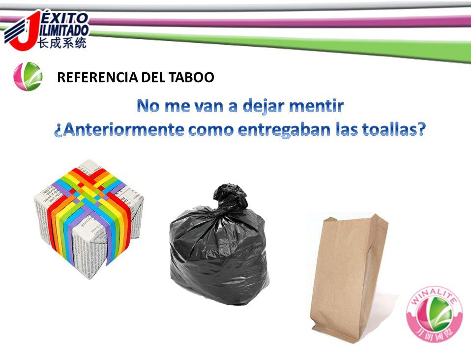 REFERENCIA DEL TABOO