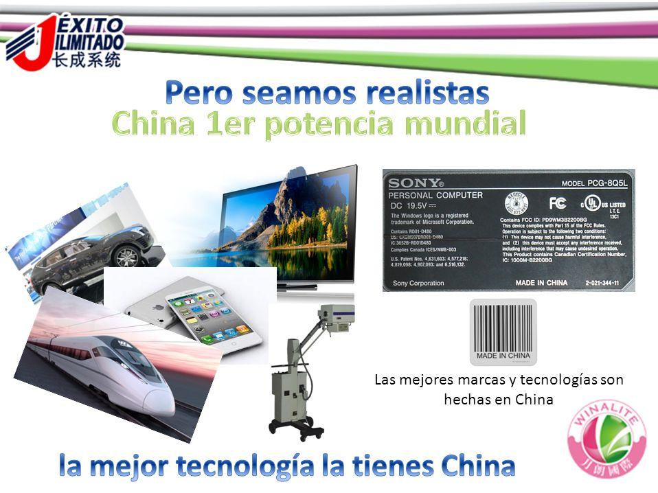 Las mejores marcas y tecnologías son hechas en China