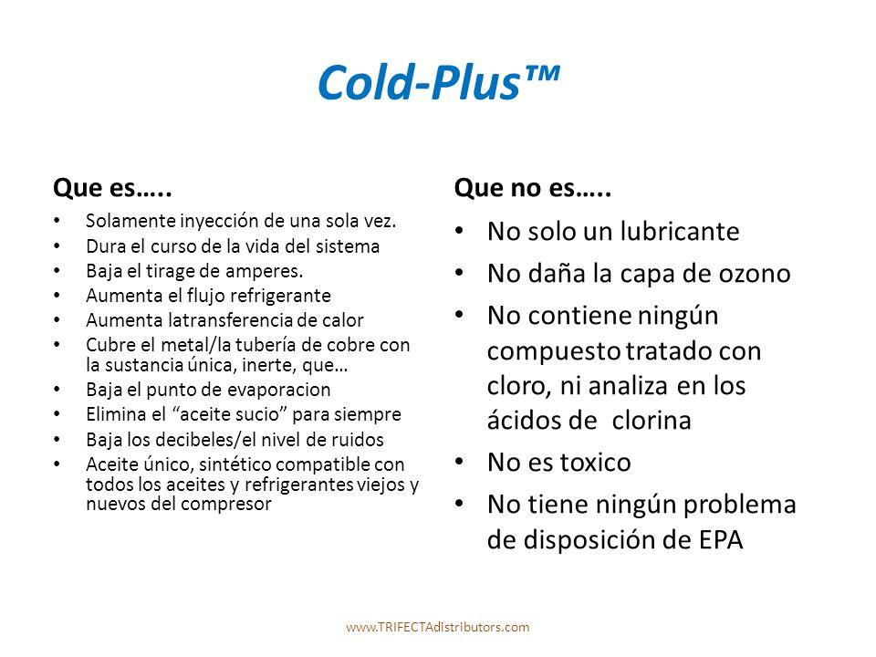 Cold-Plus Que es….. Solamente inyección de una sola vez.