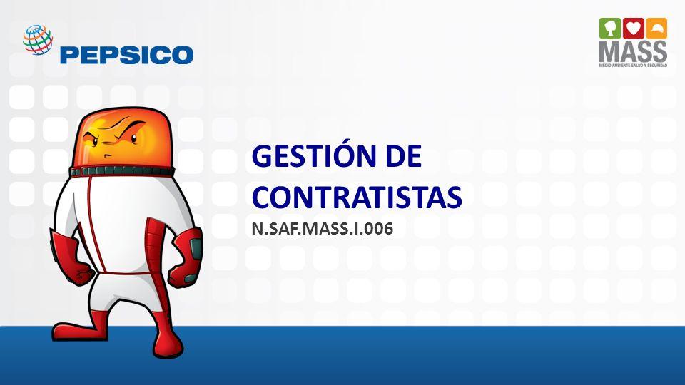GESTIÓN DE CONTRATISTAS N.SAF.MASS.I.006