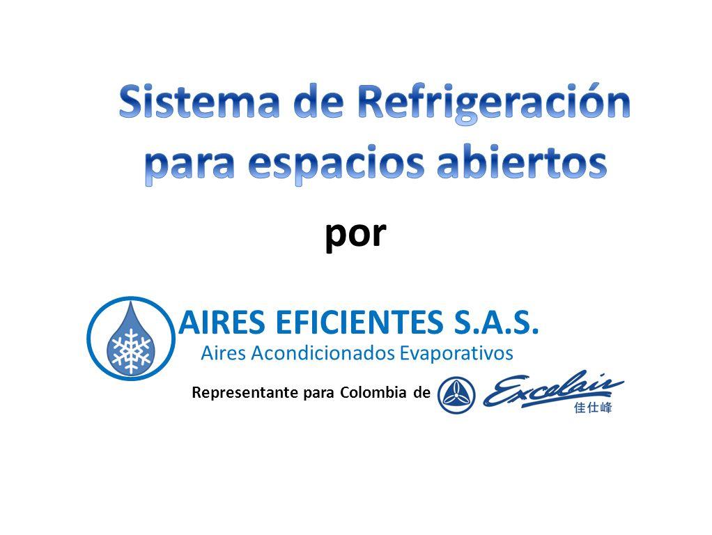 AIRES EFICIENTES S.A.S. Aires Acondicionados Evaporativos por Representante para Colombia de