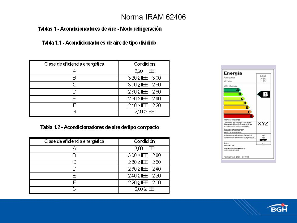Norma IRAM 62406