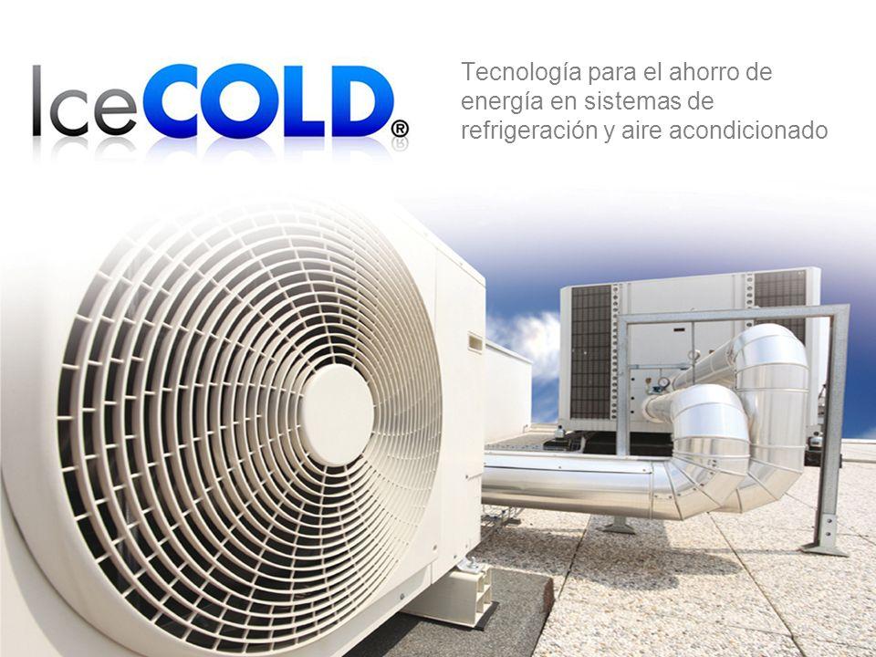 Tecnología para el ahorro de energía en sistemas de refrigeración y aire acondicionado