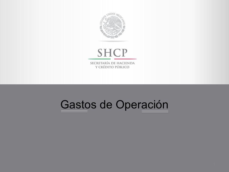 Gastos de Operación 1