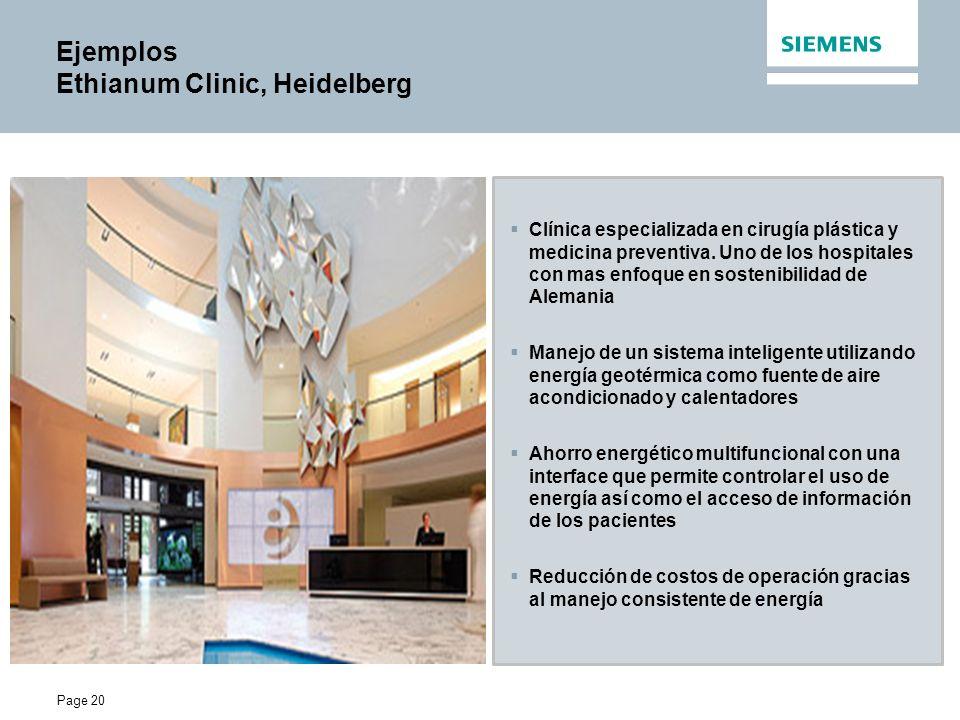 Page 20 Ejemplos Ethianum Clinic, Heidelberg Clínica especializada en cirugía plástica y medicina preventiva.