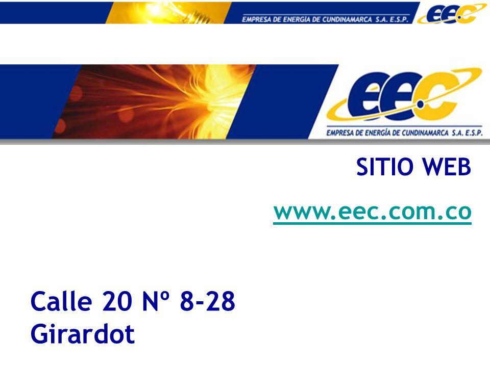 SITIO WEB www.eec.com.co Calle 20 Nº 8-28 Girardot